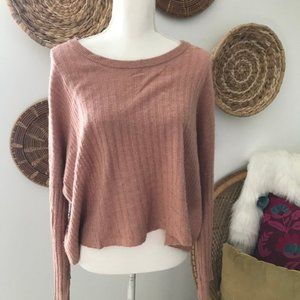 Madewell • Oversized Pullover Wide Sleeve Sweater